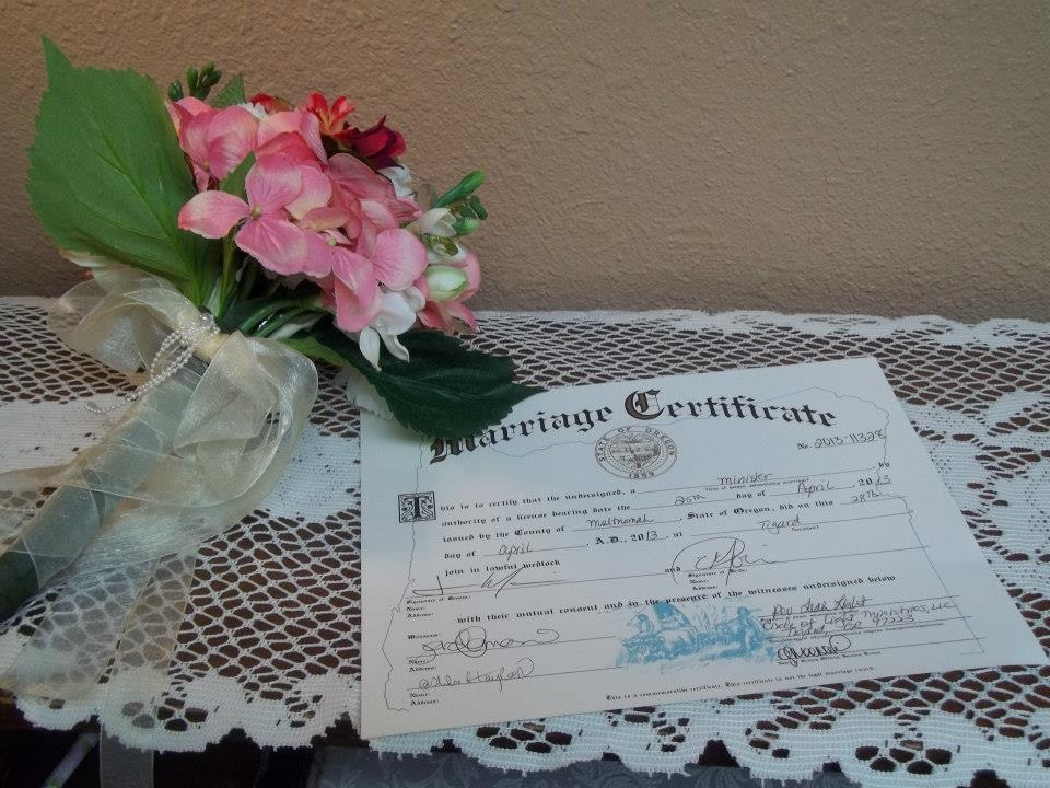 Category Wedded Your Way Officiant Services